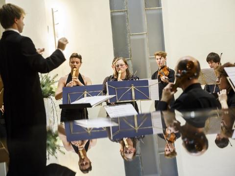 Komorní orchestr Camerata Cramsiriensis (Foto: Klub kultury Napajedla)