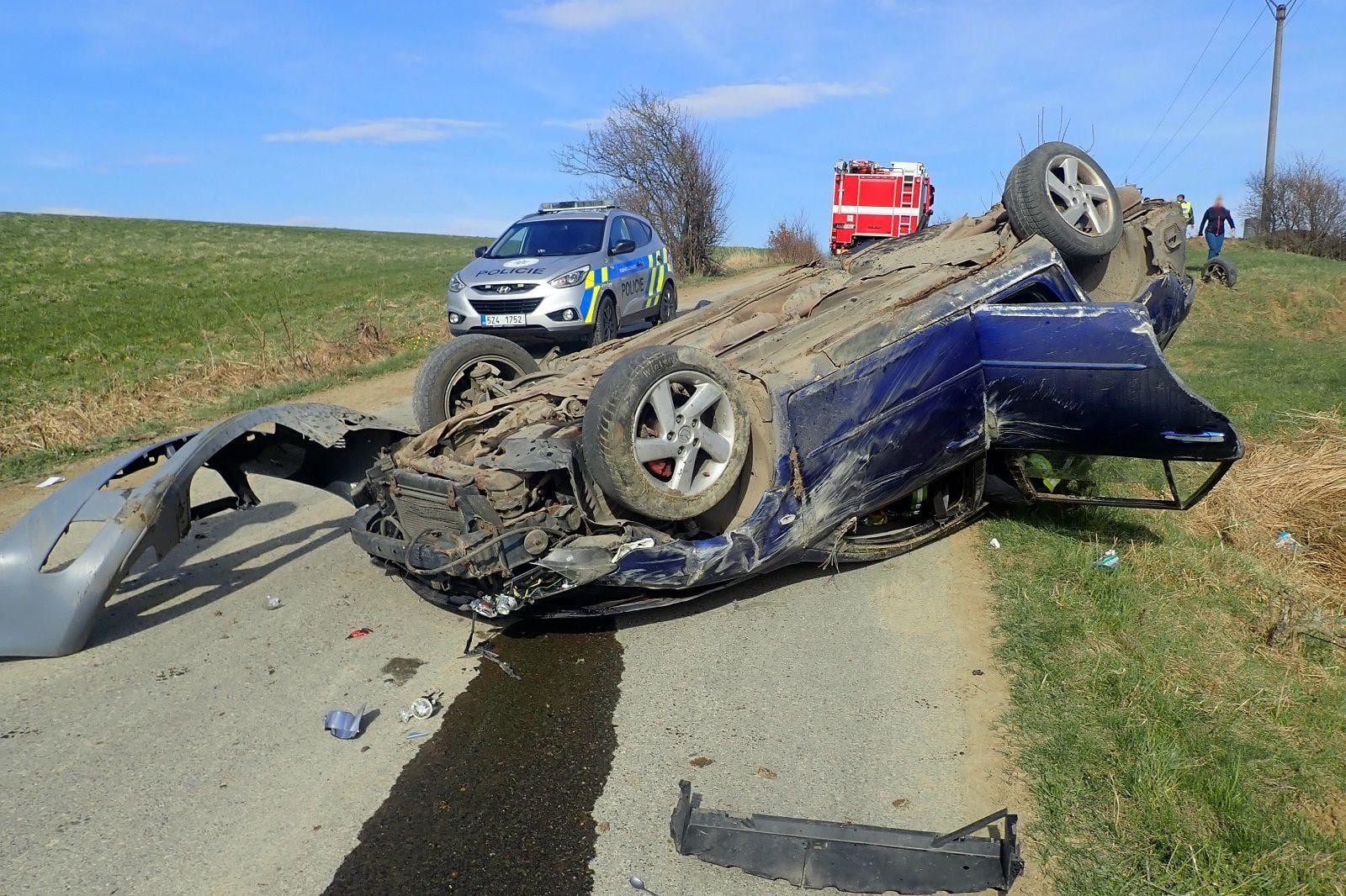 Dopravní nehoda Střelná
