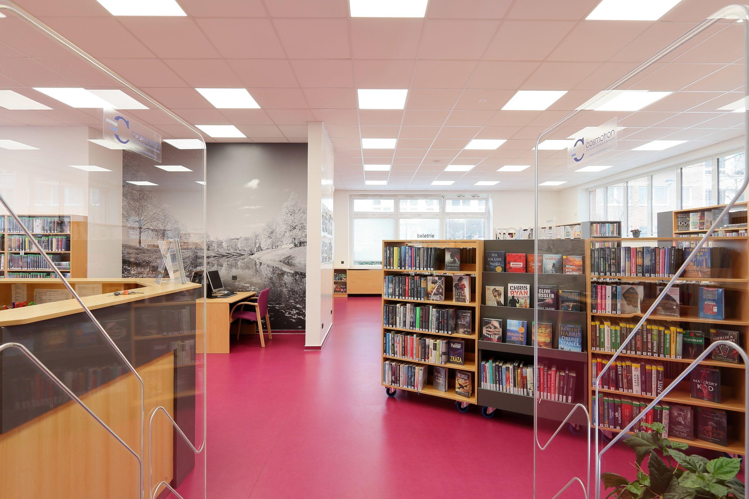 Nově zrekonstruovaná knihovna Jižní Svahy