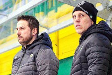 Foto: Hokejisty prvoligového Vsetína i v další sezoně povedou Roman Stantien a Jan Srdínko. Foto: www.hc-vsetin.cz