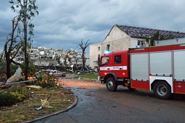 SDH celého Zlínského kraje jsou připraveny vyjet na pomoc obyvatelům Hodonínska. foto: HZS