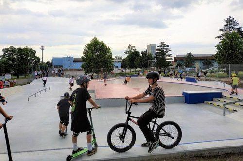 V Uherském Hradišti vyrost skatepark za více než devět milionů. foto: www.mesto-uh.cz